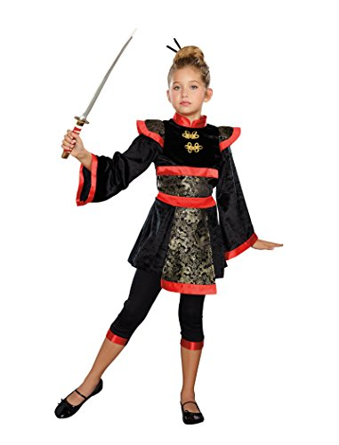 SugarSugar Girls Ninja Star Costume, One Color,