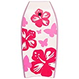 oldzon 41'' Lightweight Super Bodyboard Surfing W/Leash EPS Core Boarding Pink Ebook