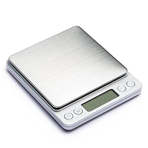 COSYLAND Báscula Digital para Cocina de Alta Precisión 3000g-0.1g Balanza Electrónica de Cocina Peso de Cocina: Amazon.es: Electrónica