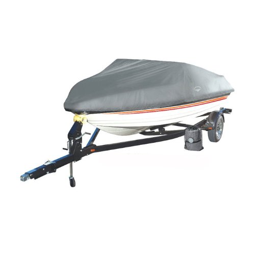 Offshore Easy Slip On Mooring Boat Covers by Wake (Model C) (Grey, Fits: 16 to - Boat Covers Mooring