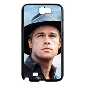 Brad Pitt For Samsung Galaxy Note 2 N7100 Cases Cell phone Case Gyri Plastic Durable Cover