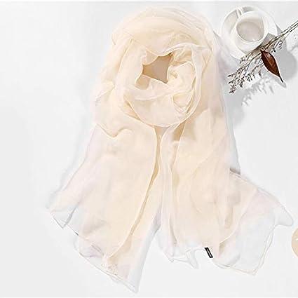 YOOMAT 200x120cm Donna Solid Plain Colour Meryl Chiffon Sciarpa da viaggio Spiaggia Sarong Pareo Bikini Cover up Large Long Oversized Scarves