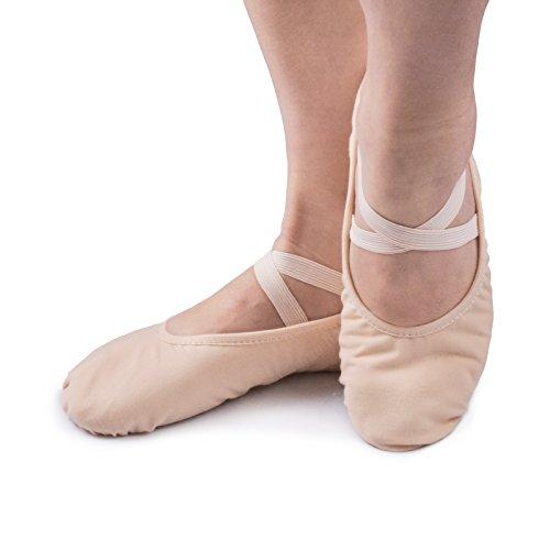 Smartodoors Girls Women's Ballet Slipper Dance Shoes Soft Ballet Shoes Ballet Flats Yoga Shoes – DiZiSports Store