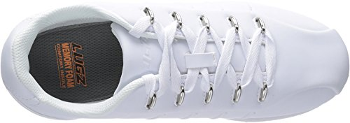 Pictures of Lugz Men's Changeover Ice Fashion Sneaker MCHGOIV White/Clear 3