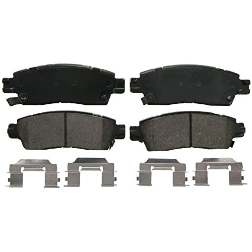Wagner QuickStop ZD883 Ceramic Disc Pad Set, Rear - 02 Chevrolet Trailblazer Brake Pad
