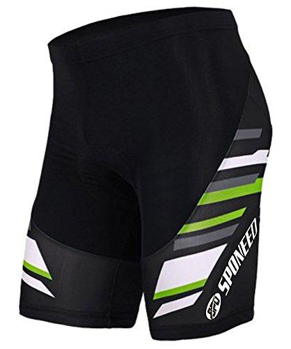 Sponeed Bicycle Shorts for Men Cycle Tights Pants Padded Short