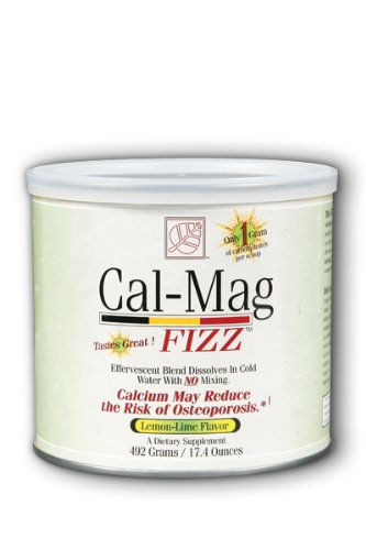 (Baywood Cal Mag Fizz Powder Lemon-Lime Flavor, 17.4 Ounce)