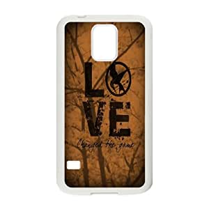 LSQDIY(R) The Hunger Games Catching Fire SamSung Galaxy S5 I9600 Hard Back Case, Personalized SamSung Galaxy S5 I9600 Case The Hunger Games Catching Fire