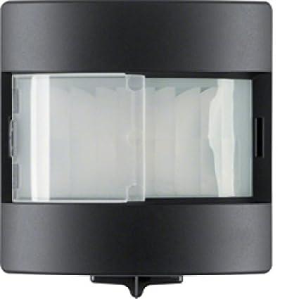 Hager - Sensor movimiento confort 180º 1,1m q1/q3 antracita