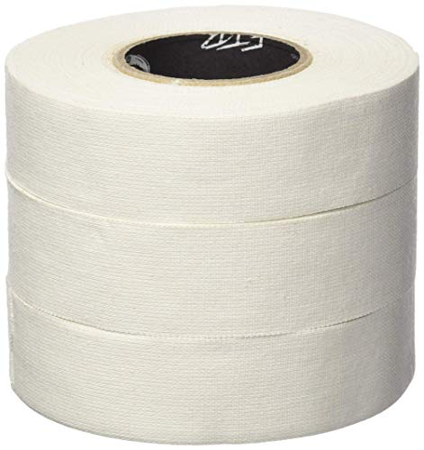 - FTB (For The Boys) White Cloth Hockey Tape - 3 Pack