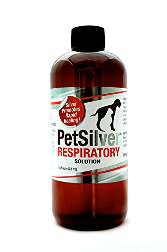 PetSilver Respiratory Solution with Chelated Silver (Nebulizer Solution)