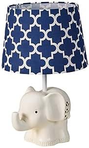 Amazon Com Lolli Living Elephant Lamp Base And Shade Baby