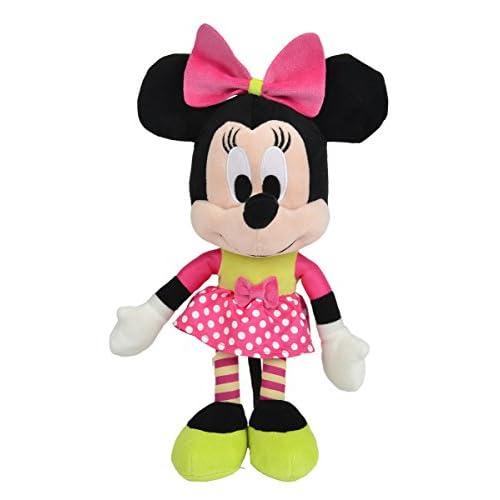 Simba 6315873133Peluche Disney I Love Minnie de 25cm