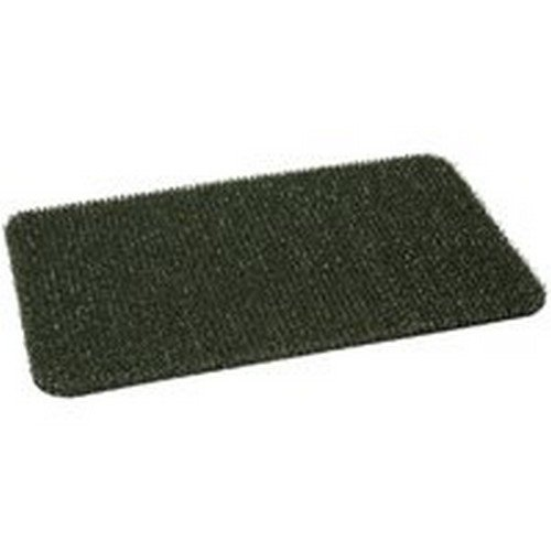 "Clean Machine Door Mat Plus Scraper 17-1/2"" X 29-1/2"" Hunter Green Astroturf"