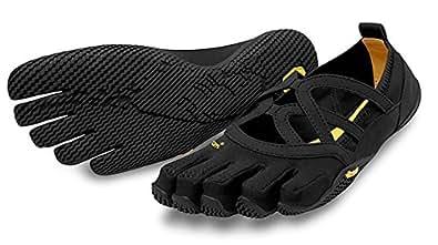 Vibram Women's Alitza Loop Fitness Yoga Shoe, Black, 36 EU/6 M US