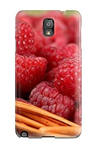 XiFu*MeiKerUunR50qYMjs Tpu Case Skin Protector For Galaxy Note 3 Berries Nature Other With Nice AppearanceXiFu*Mei