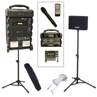APLSB8001 - Amplivox Titan Wireless Portable PA Bundle with