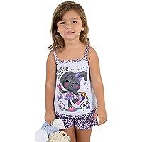 Baby Doll Infantil Oncinha Lilás Infantil