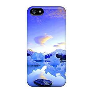 NewArrivalcase Snap On Hard Case Cover Icy Lake Protector For Iphone 5/5s by mcsharks