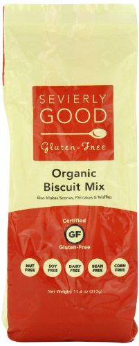 Sevierly Good Gluten Free Organic Biscuit Mix, 11.4 Ounce