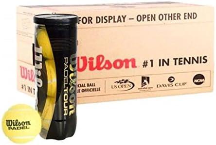 Cajón Bolas Wilson 24 Botes Padel Tour: Amazon.es: Deportes y aire ...