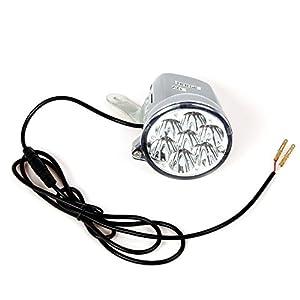 418iy00FYoL. SS300 12V LED luce anteriore per monopattino scooter elettrico modello di 3e di 5/luce lampada