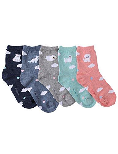 Cloud Cat (OSABASA Pet Animal Print Socks-Cloud a)