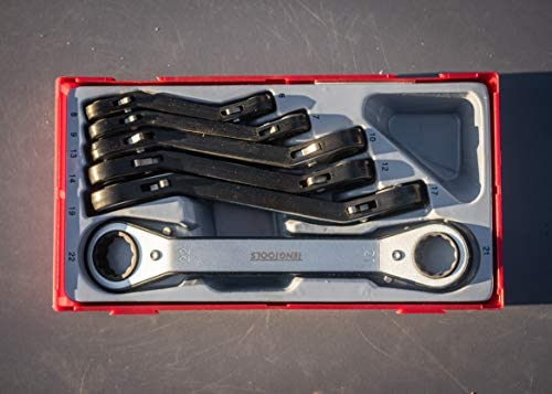 Teng TTRORS Metric Ratchet Ring Spanners (6 Pieces)