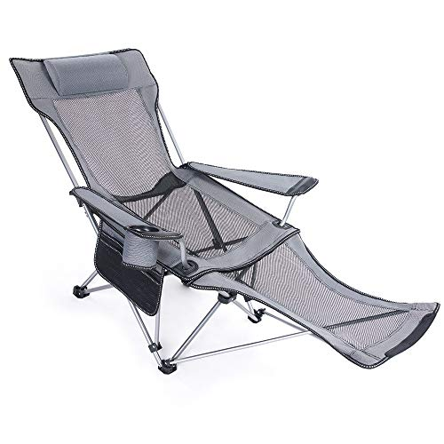 Portable Camping Luxury Swing Chair Relaxation Comfort Lean Back Folding Chair for Camping Picnics Beach Fishing