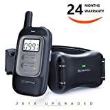 Shock Collar for Dogs – Dog Training Collar with Remote 1000Ft Rechargeable Rainproof Anti Bark E Collar,Beep Vibration Shock for Small Medium Large Dogs (2018 New) For Sale