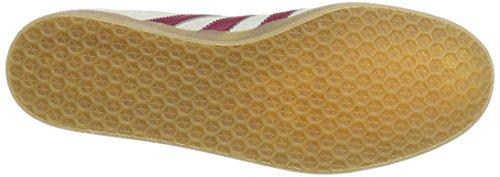 adidas Gazelle Super, Scarpe da Ginnastica Basse Uomo Grigio (Grey One/Mystery Rouge Ruby/Gold Metallic)