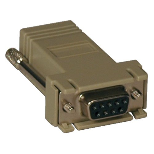 - TRIPP LITE Modular Serial Adapter - Cisco RJ45 F to DB9 F - CrossOver (B090-A9F-X)