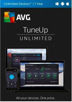 AVG TuneUp 2019 Unlimited devices / 1 Year [Key Card] by AVG TuneUp