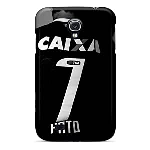 Quality OTBOX Case Cover With Corinthians Alexandre Pato In Black Nice Appearance Compatible With Galaxy S4