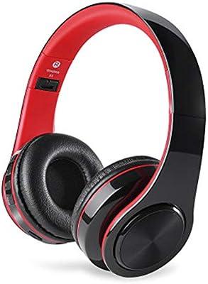 LCL Auriculares Bluetooth Inalámbrico Cancelación de Ruido Plegable con Micrófono Incorporado Modo Cable PC/Móvil/Televisor, 1: Amazon.es: Deportes y aire libre