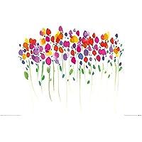 El Arte Grupo Summer Thornton (Vibrant Floral)–Lámina Decorativa