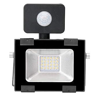20w Foco led exterior con Sensor Movimiento ,Led Proyector para Exterior Iluminación Decoración alto brillo