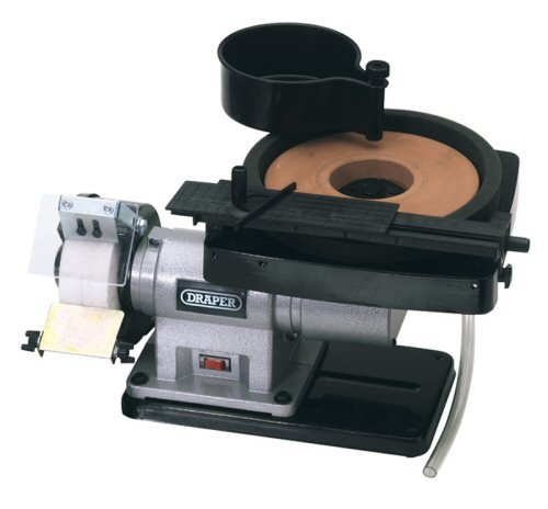 Draper Dry Stone Bench Grinder Wheel 125 x 12.7mm Bore DRA38186 Power Tools Workshop Tools Bench Grinders