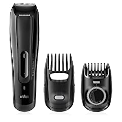 The Braun Beard Trimmer 5070 is the tool for every man. It delivers the right look for your beard and stubble without the fuss and gets you the right length of facial hair every time. With lifetime lasting sharp blades, the Braun Beard Trimme...