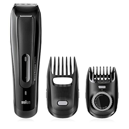 Braun BT5070 Men's Beard Trimmer, Cordless & Rechargeable, Black