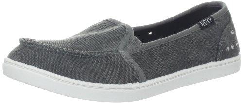 Roxy Women's Lido II Boat Shoe,Black,7 M US