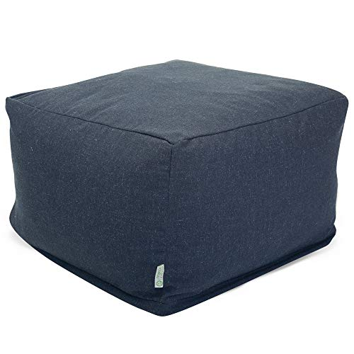 Majestic Home Goods Wales Ottoman, Large, ()