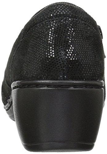 Black Channing Chaussures Kim Lizard Femmes Clarks O0v6qO