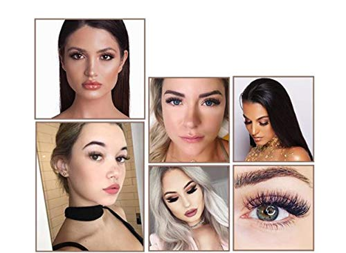 LUXILASH Magnetic Eyelash and Eyeliner Kit | Reusable Silk | Natural Look | Day and Night | No Glue | 6 Pieces | Ultra Soft