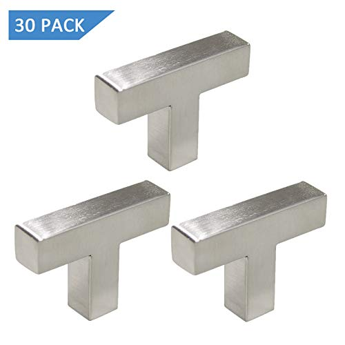 Satin Nickel Finish Square Bar 50mm/2