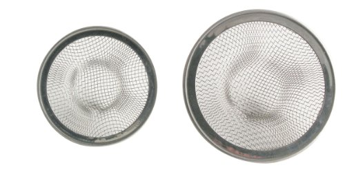 Ldr Faucet Lavatory (LDR 501 3330 55MM and 70MM Stainless Steel Mesh Strainer, 2-Pack)