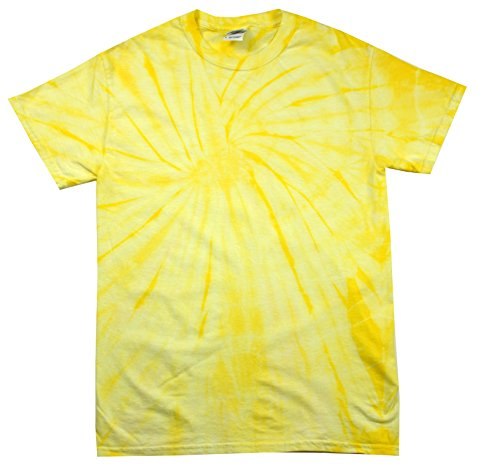 Colortone Tie Dye T-Shirt 6-8 (SM) Spider Dandelion for $<!--$18.99-->