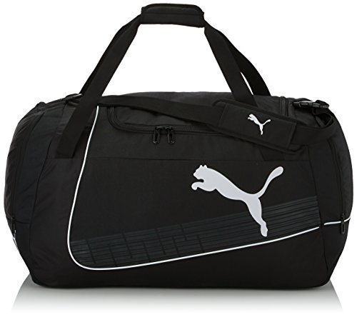 PUMA borsa sportiva ultima Large Bag, black/white, 73 x 31 x 34,5 cm, 79 litri, 073874 01