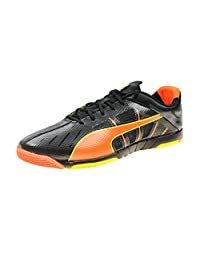 Puma Men's and Youth Big Boys Neon Lite 2.0 Indoor Soccer Shoes
