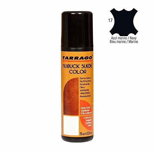 Tarrago Nubuck and Suede Color Spray - 2.5 Ounces, Navy #17